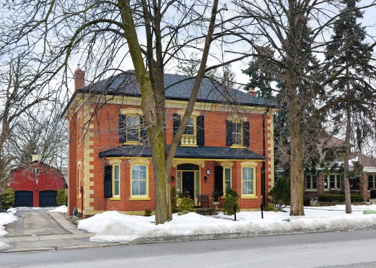 Listed and Sold by David Mosley...Heritage Property in Streetsville