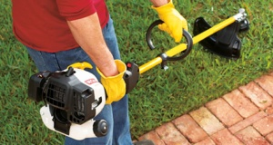 Using a String Trimmer