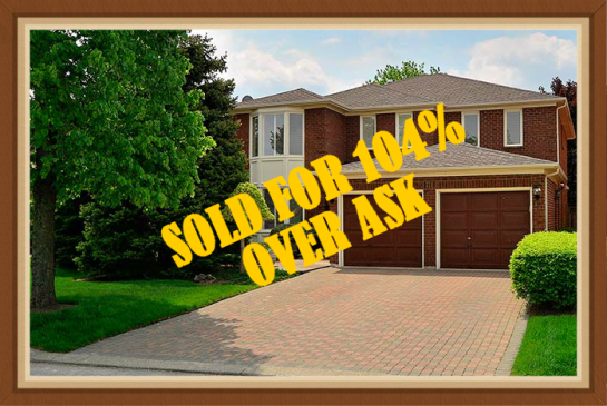 SOLD FOR 104% OVER ASK!